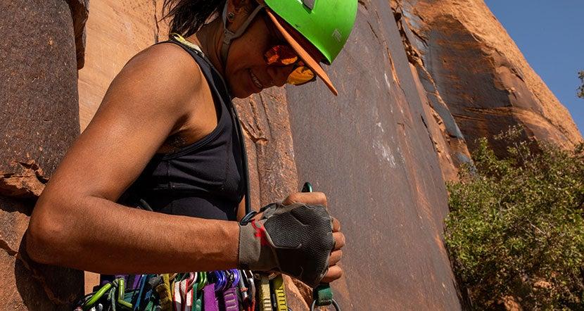 Women's Rock Climbing Gloves