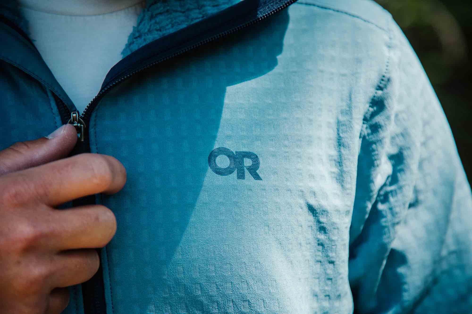 Level Up Your Midlayer with 93% Recycled Vigor Plus Fleece