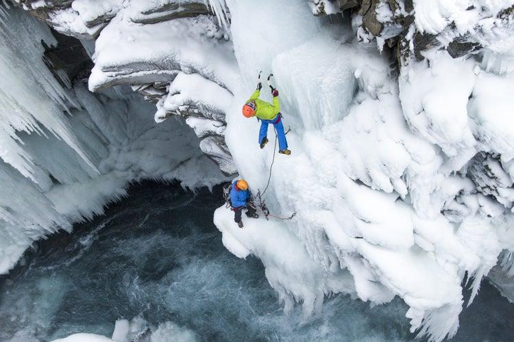 Photos: Ice Climbing Canada's Bull River Canyon
