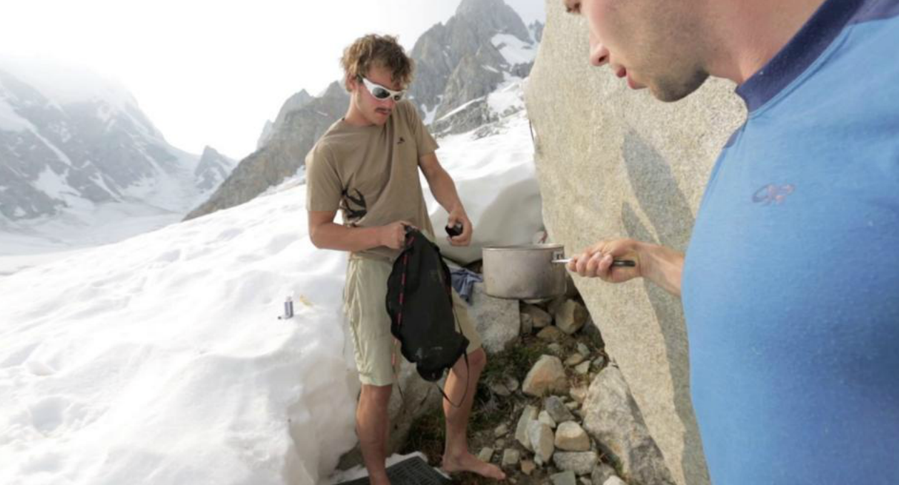 How to Make an Alpine Shower