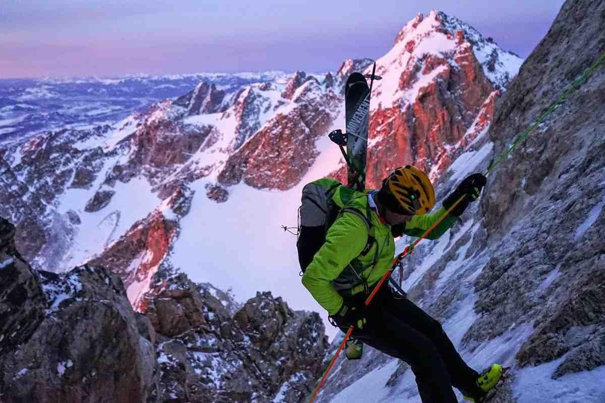 Skiing The Teton Trifecta
