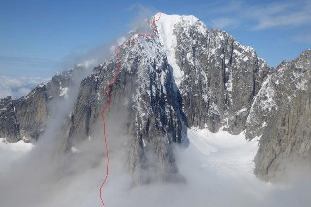 Graham Zimmerman and Scott Bennett Pioneer New Line in Alaska's Revelation Mountains