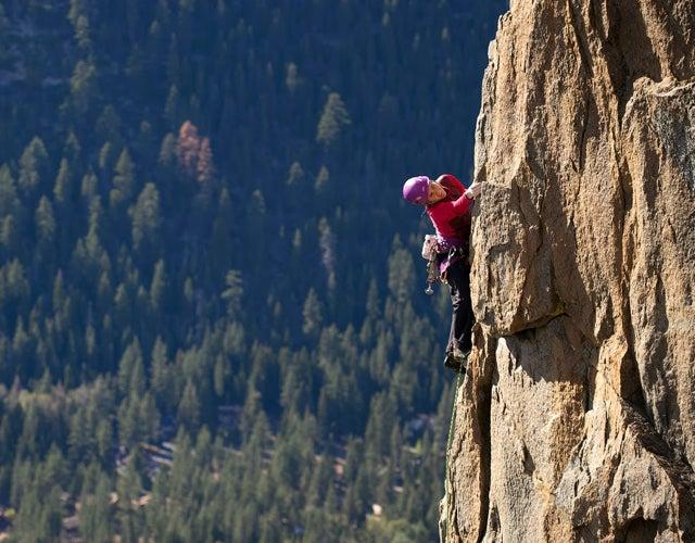Climbing Through Pregnancy: Sickness, Heartbeats And Photo Shoots