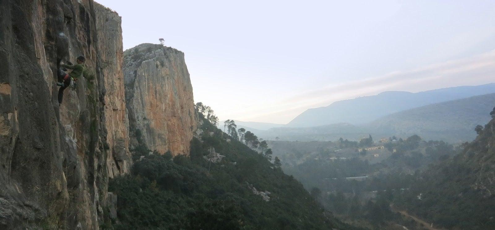 A Spain Sport Climbing Tick List