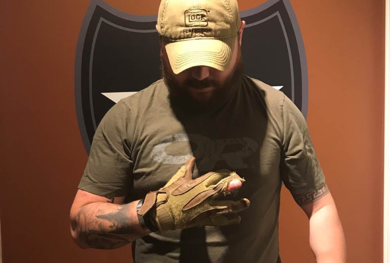 Corey Garmon And The Four-Fingered Glove