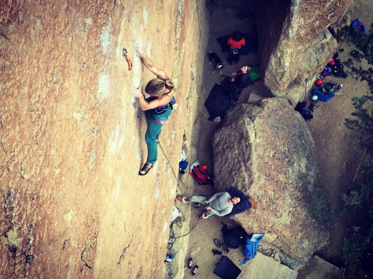Cragging At Smith Rock