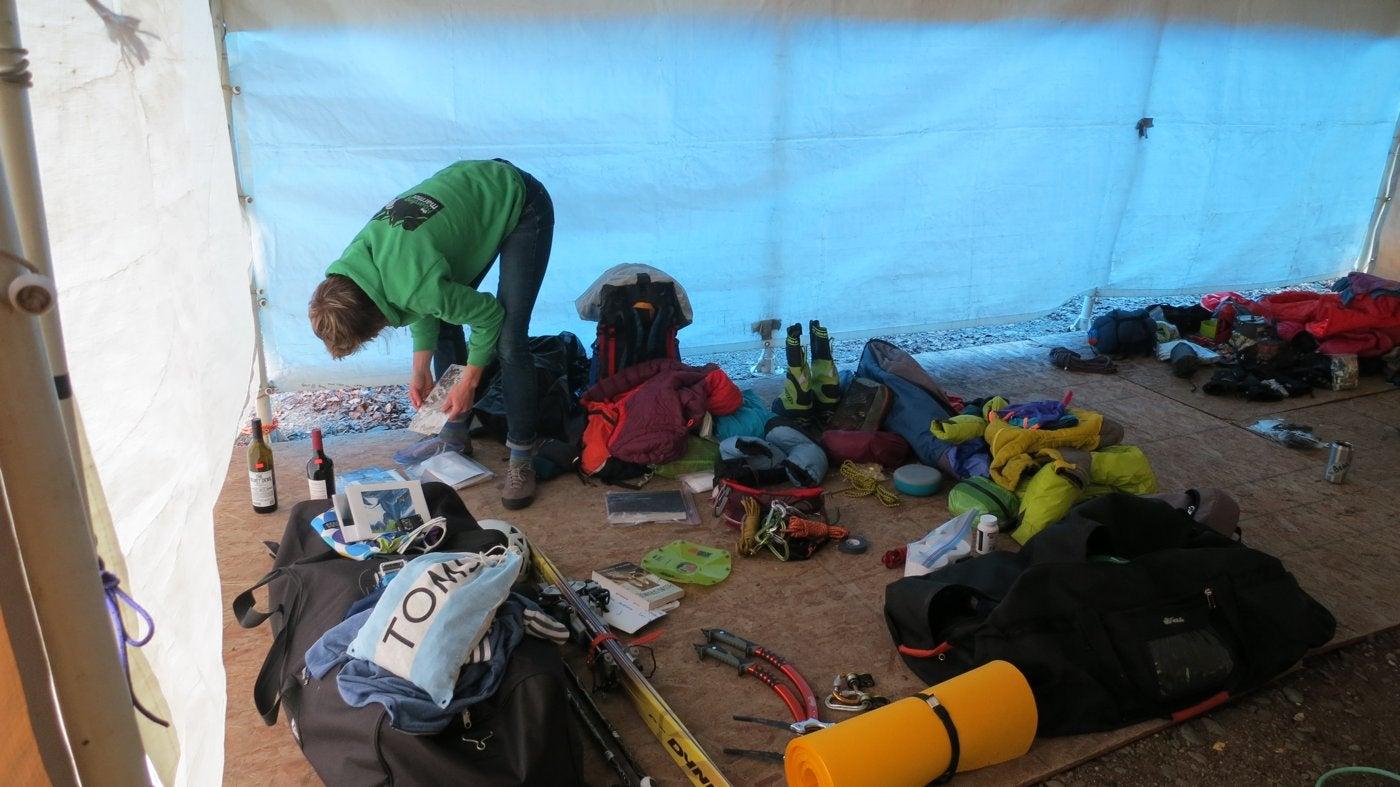 PHOTOS: First Women's Ascent Of Denali Diamond