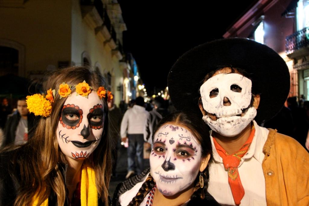 Outdoor Research Employee Ellis Bennett at Dia De Los Muertos
