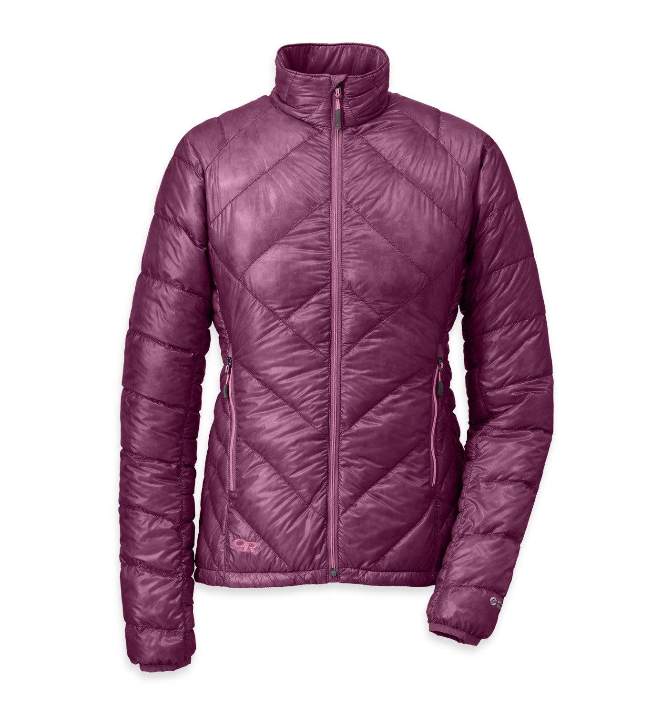 Men's Filament Pullover and Women's Filament Jacket