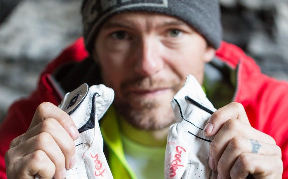Up Close: Gordon McArthur Climbing On The World Stage
