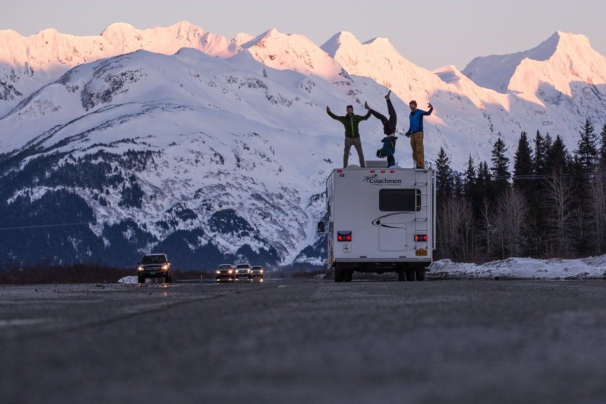 VIDEO and PHOTOS: A European's First Alaska Ski Trip