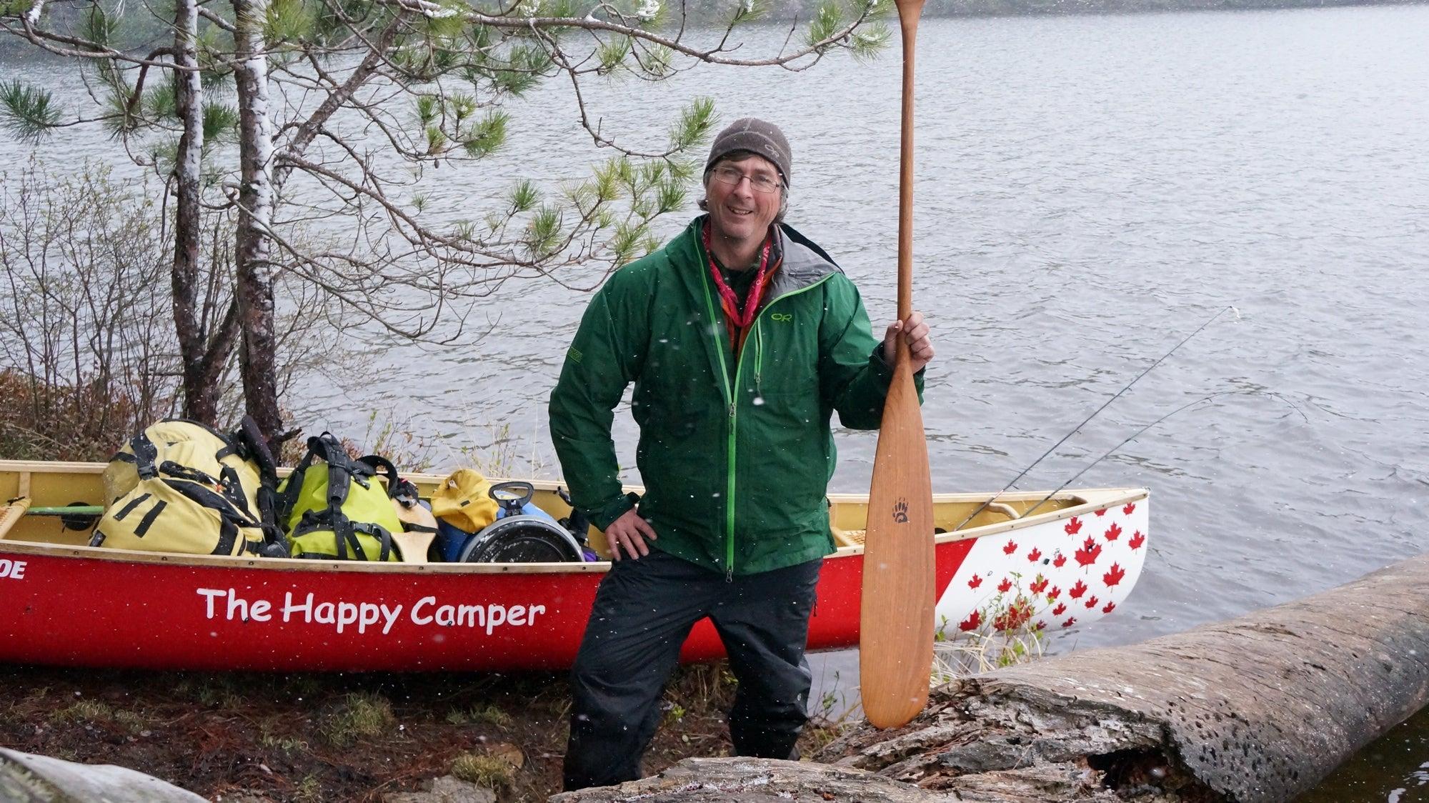 Up Close: Kevin Callan, A Really Happy Camper