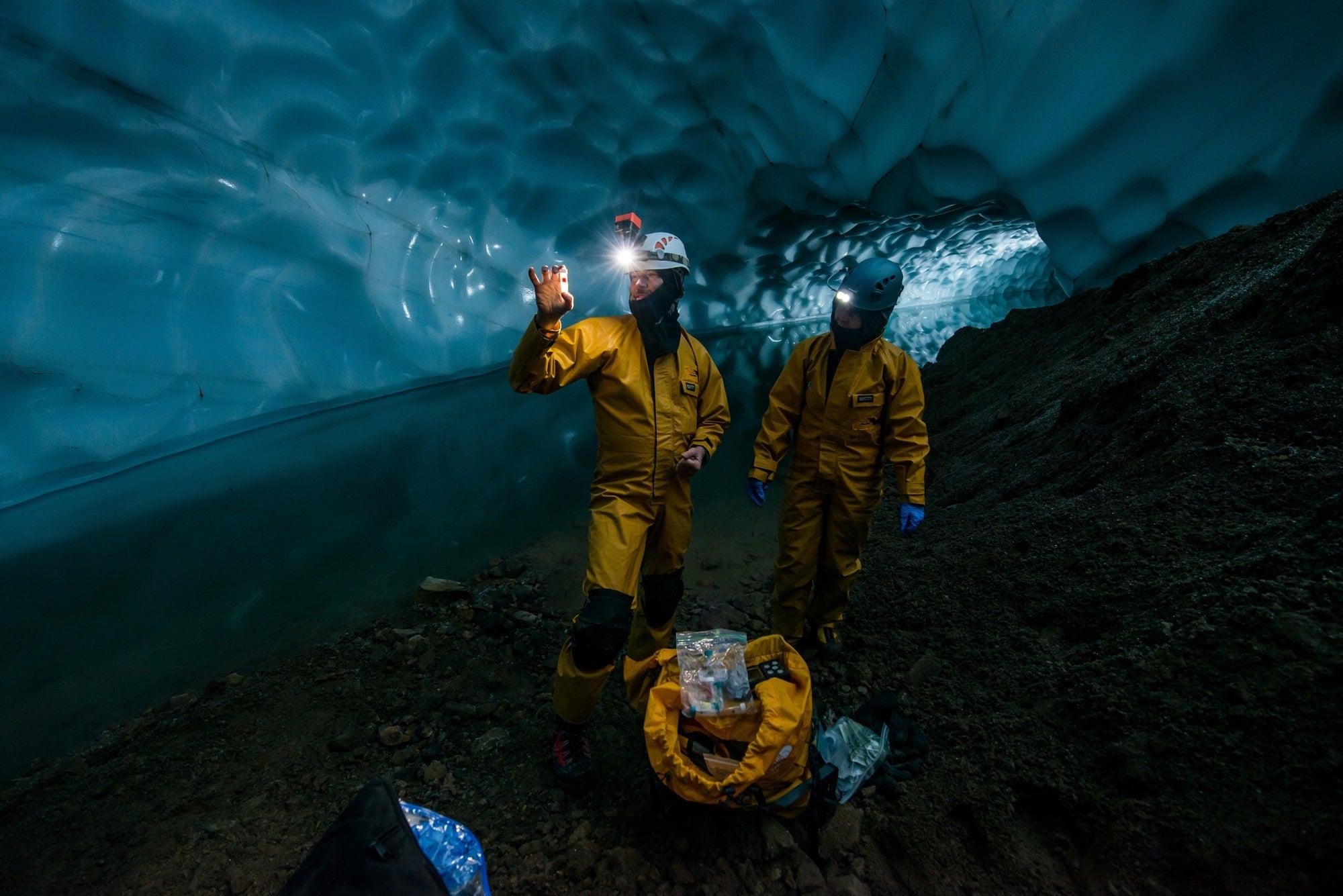 Dangerous Beauty: Exploring Mount Rainier's Deadly Ice Caves