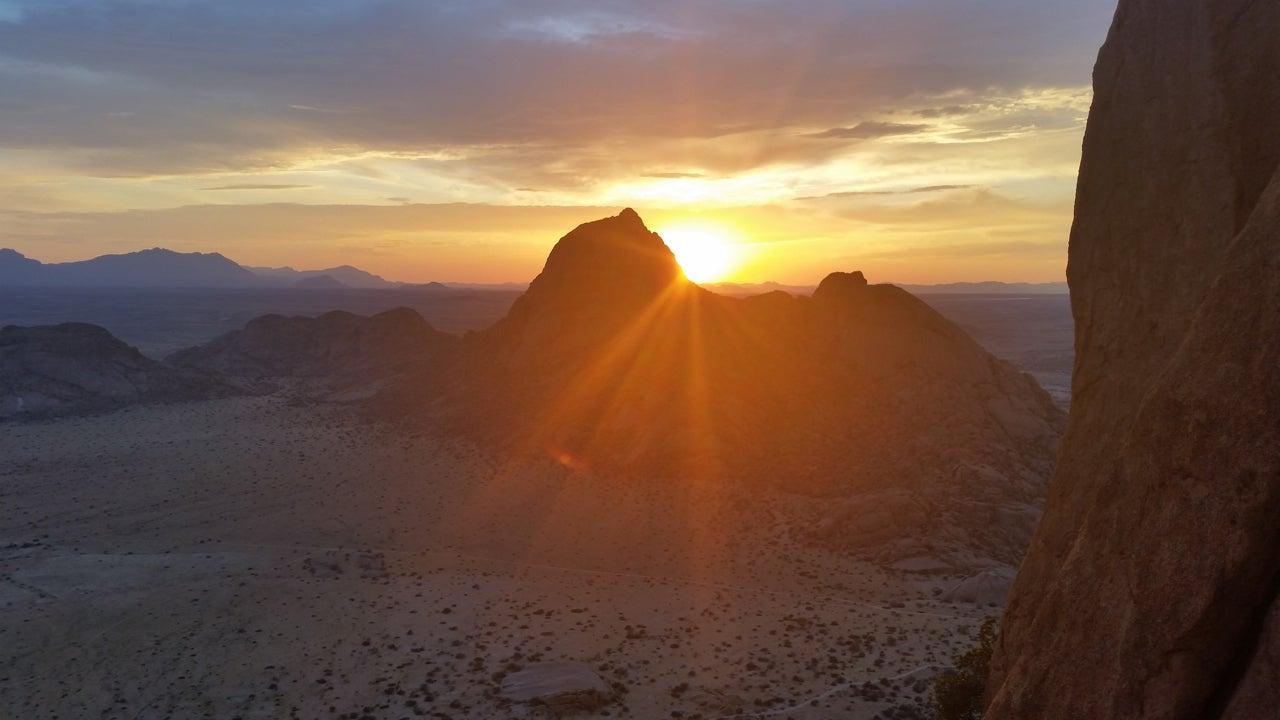 Climbing The Matterhorn ... Of Namibia