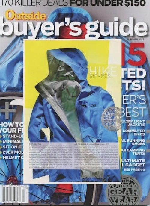 Outside Magazine awards Axiom Jacket 'Gear of the Year'