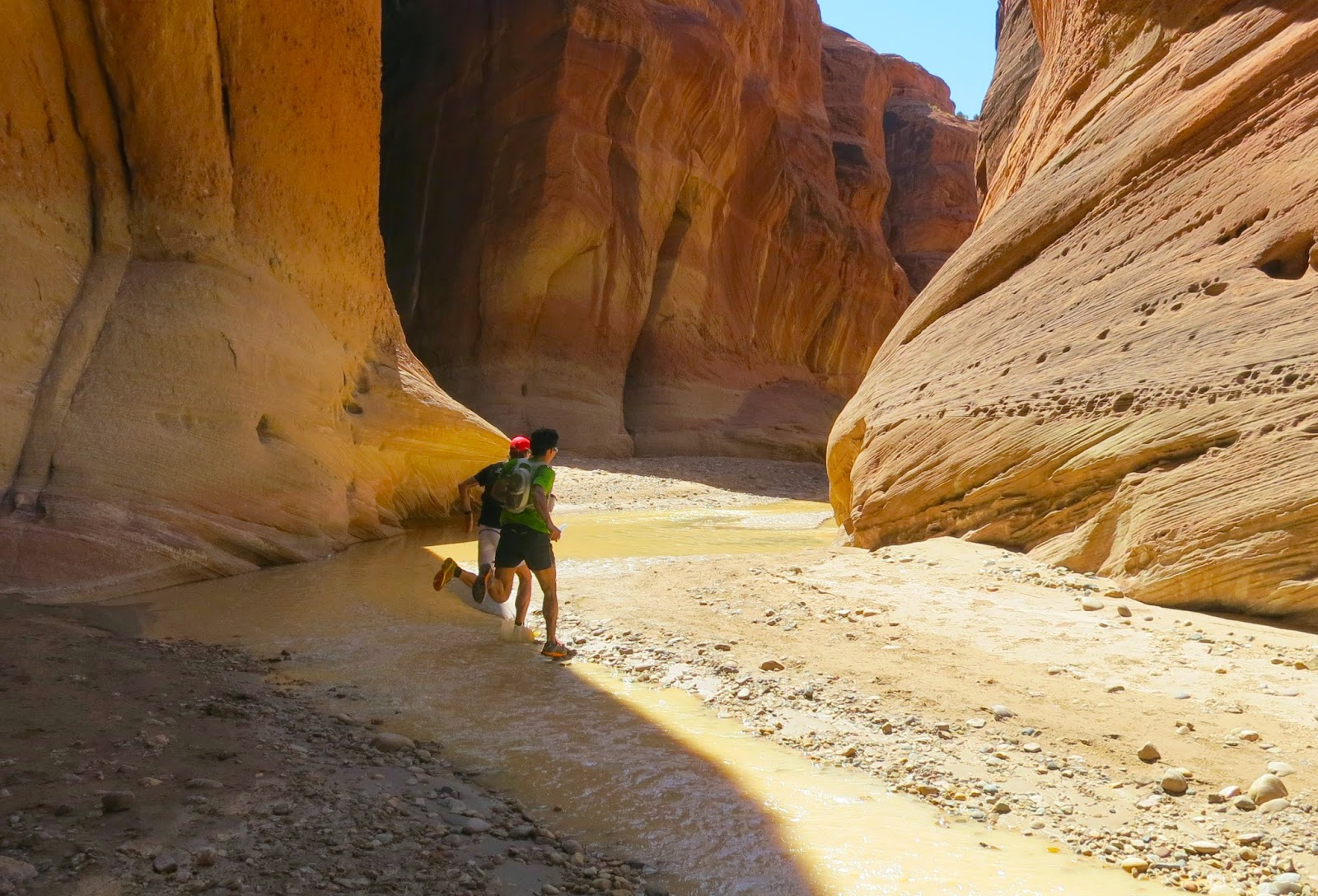 Running Spectacular Paria Canyon In A Day