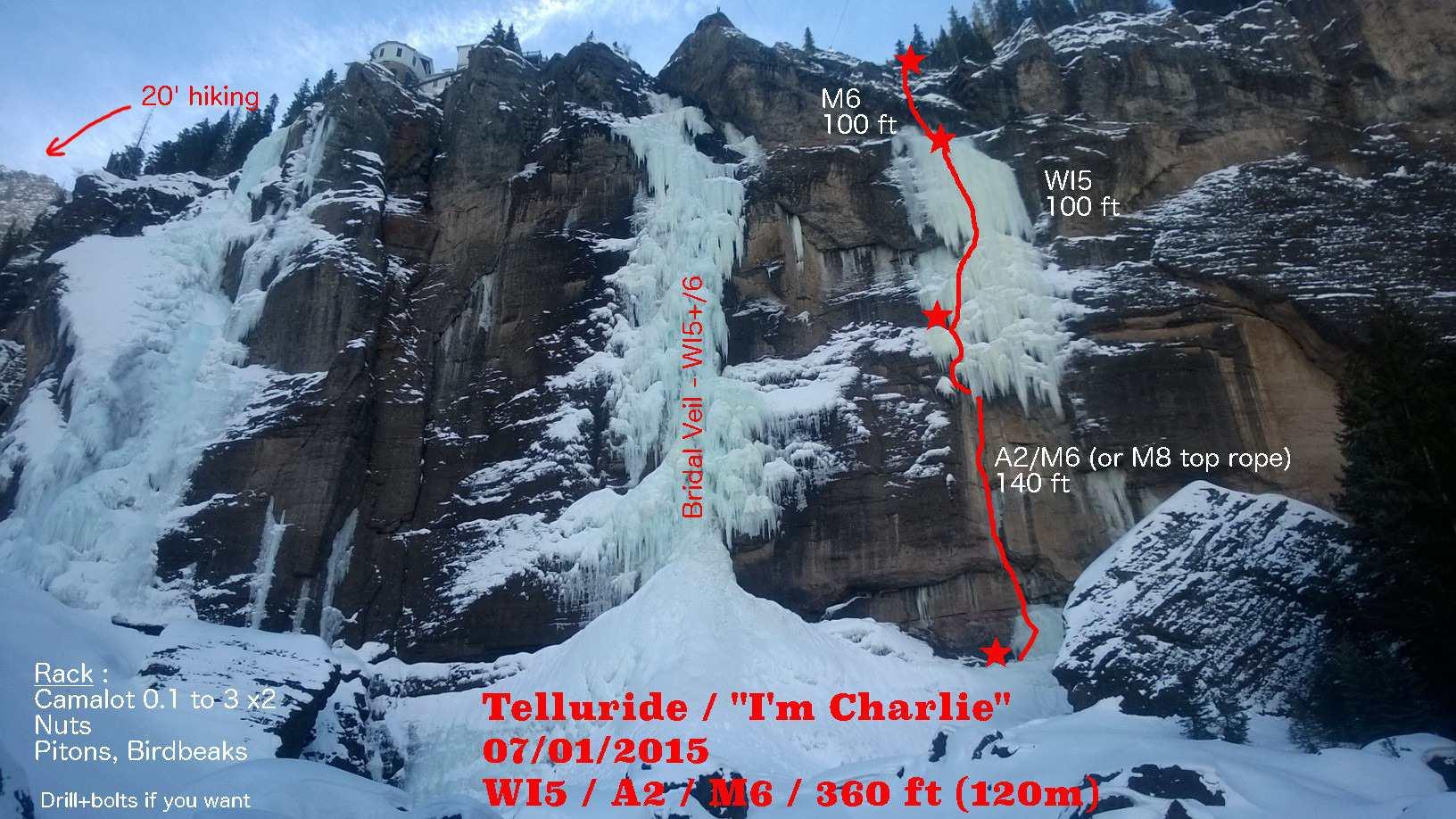 Climbing Colorado Ice, French Style