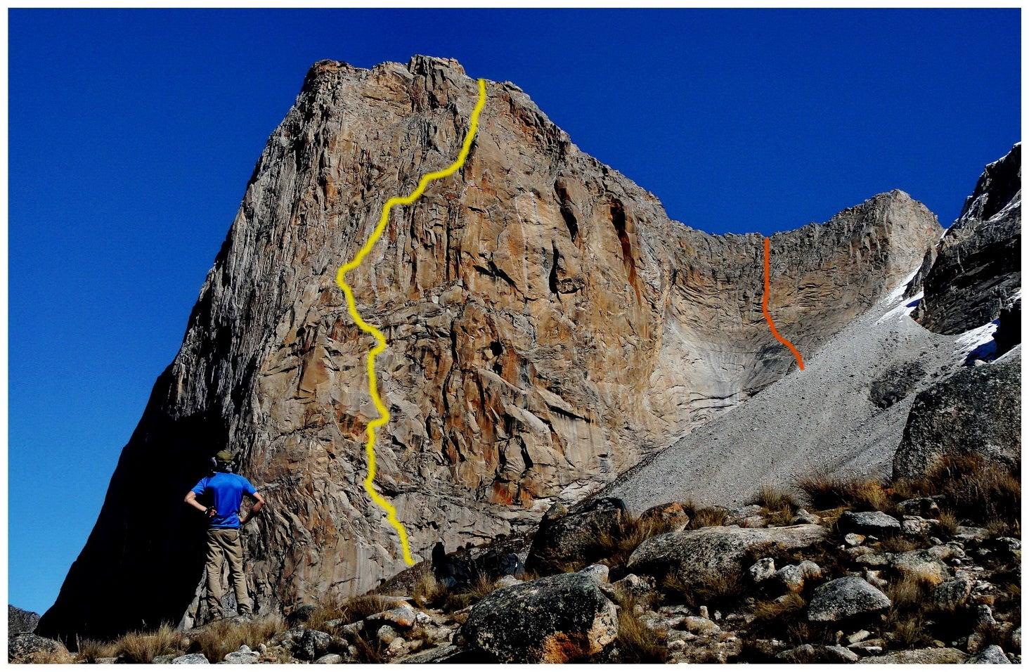 20 Pitches On Peru's Largest Big Wall: La Esfinge's Original Route