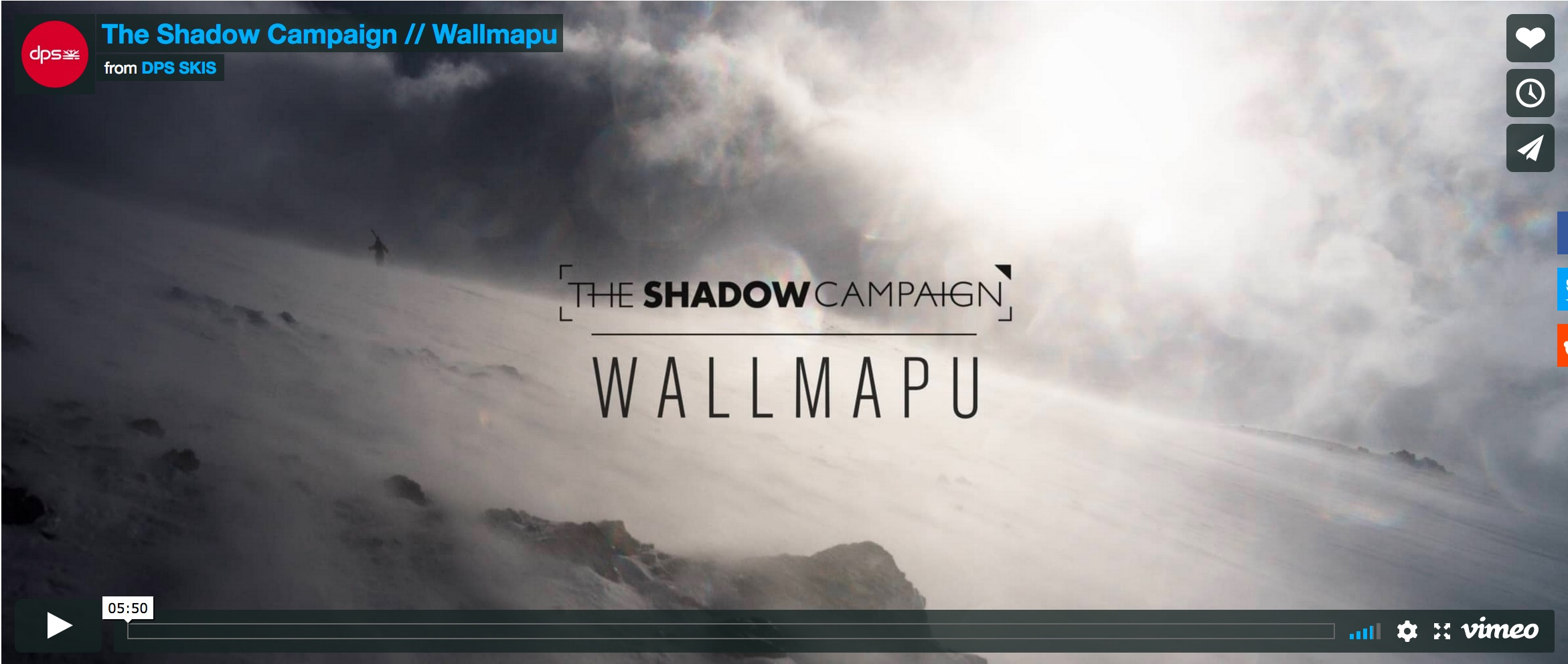 DPS Cinematic's The Shadow Campaign: Wallmapu