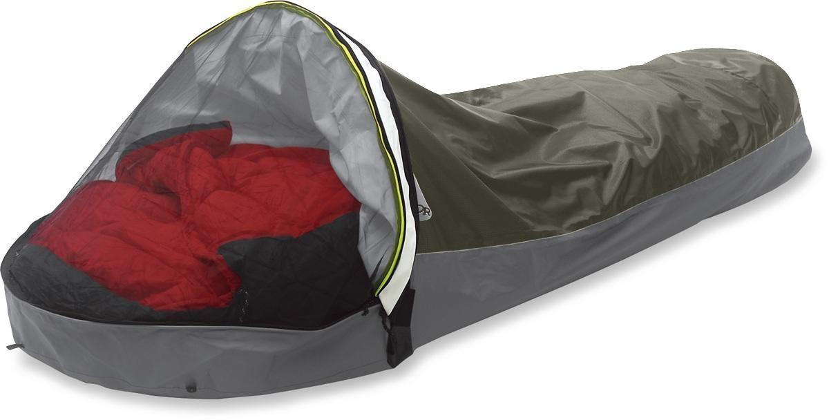 Bivy Sacks: Part tent, part sleeping bag — pure convenience
