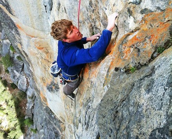 OR's Nik Berry Talks About His New 5.13 Yosemite Route