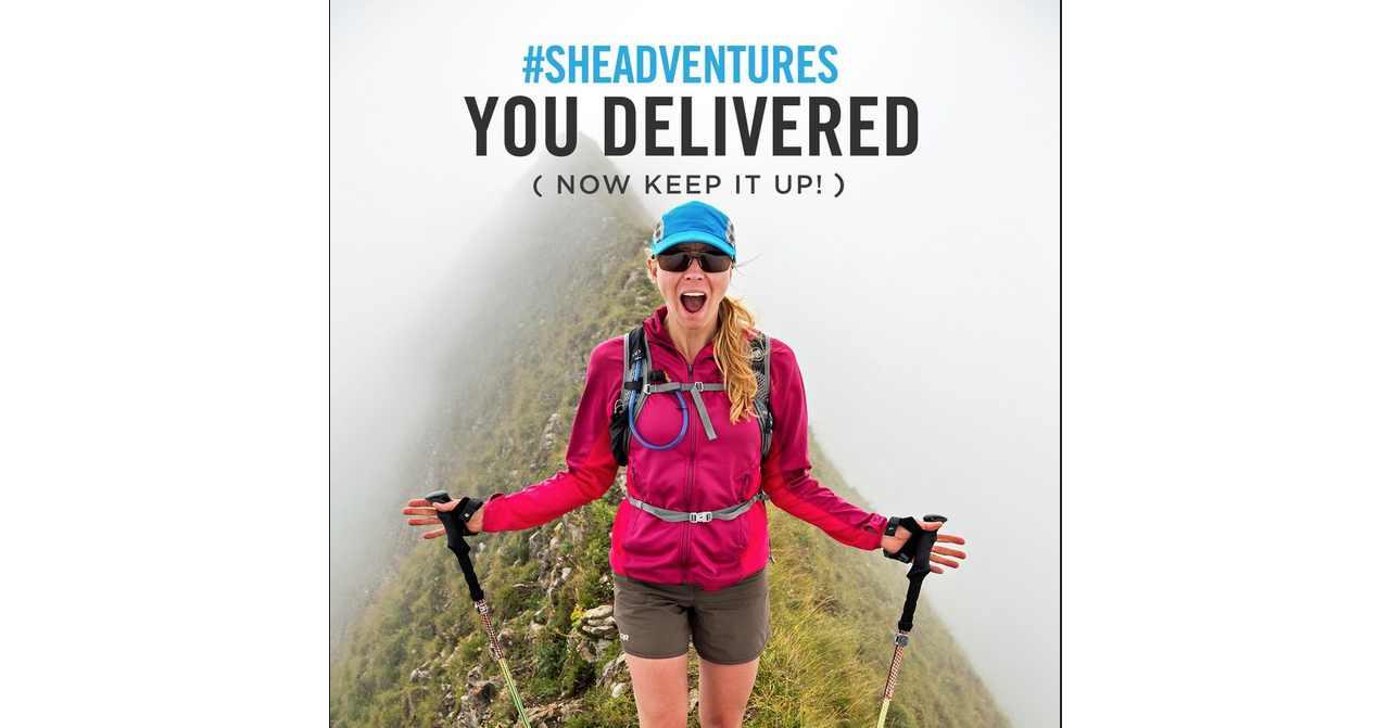 The Future Of #SheAdventures – Keep Posting