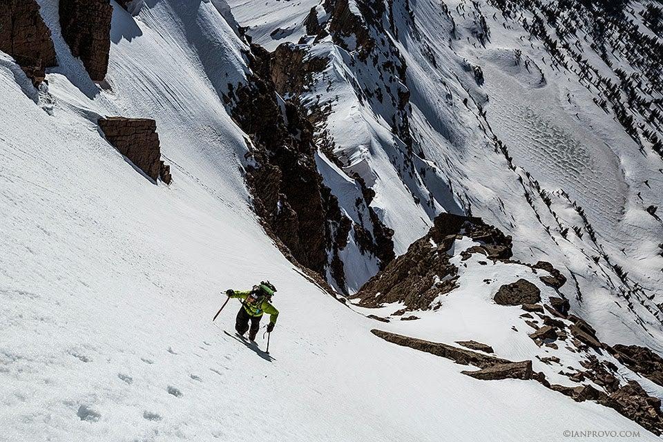 Video: Snowboarding From The Top Of Hayden Peak