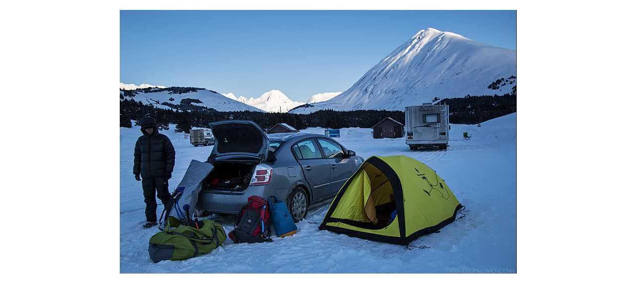 Mind-blowing Alaskan Roadside Runs