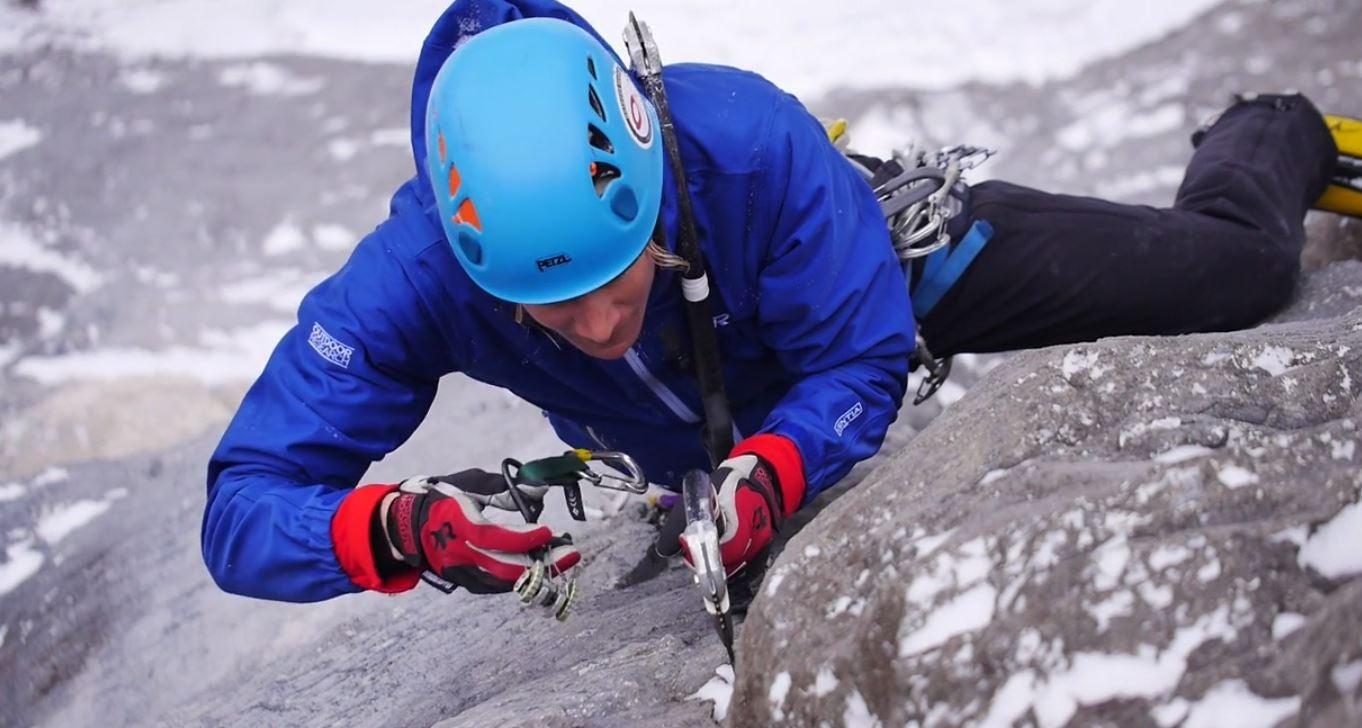 OR's Sarah Hueniken Climbs Musashi (M12)