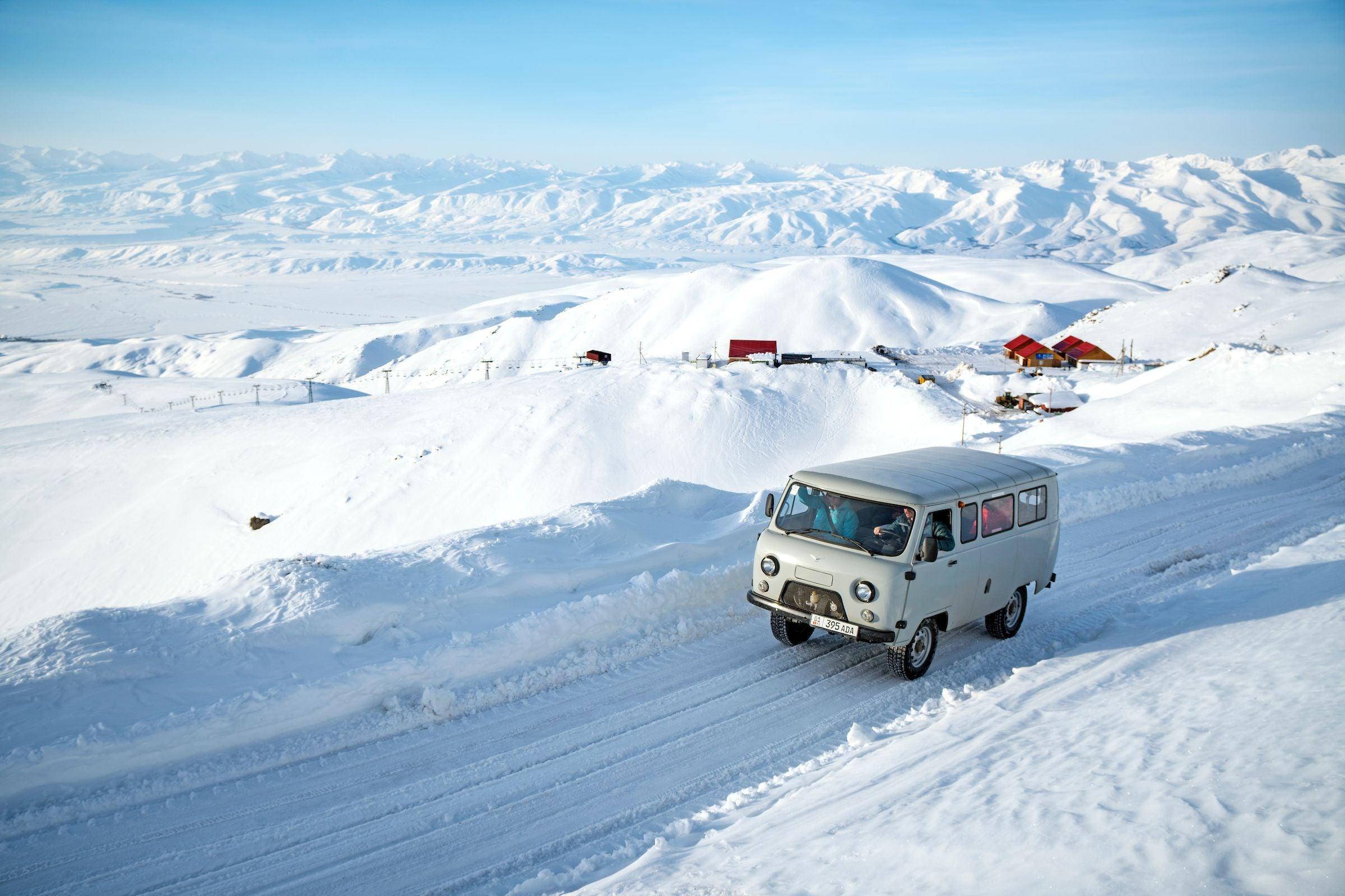 Ski Touring Kyrgyzstan