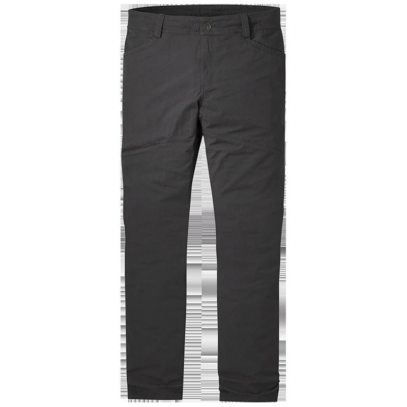 Storm grey cotton and Cordura nylon blend Wadi Rum Pants