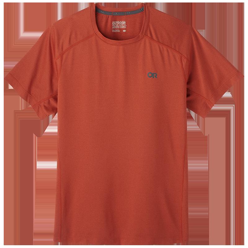 Men's Argon Short Sleeve Tee in Mars Red