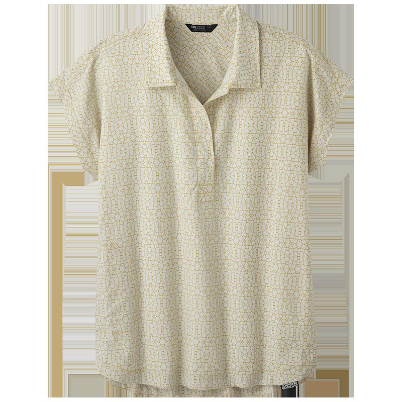 Women's Sanjay S/S Shirt in Beeswax